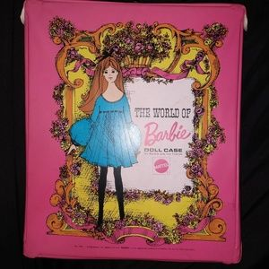 Vintage 1968 Barbie Doll Case Excellent Condition